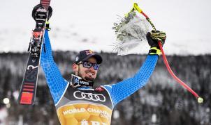Dominik Paris consigue su primer oro en una gran prueba