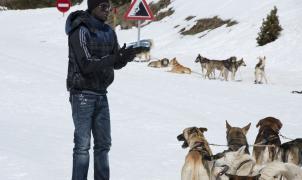 Eric Abidal disfruta de la nieve en Vallnord