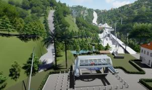 """Malasia proyecta un parque temático con la pista de esquí """"seca"""" más larga del mundo para 2023"""