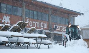Las estaciones de esquí de Aramón suman más dominio esquiable y medio metro de nieve nueva