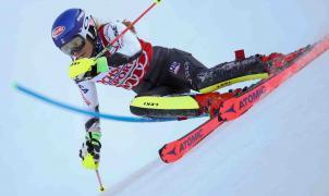 Mikaela Shiffrin consigue el póquer de victorias en el primer slalom de la Copa del Mundo en Levi