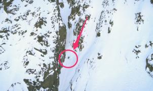 Nuevo reto cumplido: espectacular descenso en esquís del Corredor Inserso de Aymar Navarro