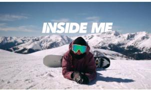 Se estrena 'Inside Me', el documental de superación de una de las mejores snowboarders de España