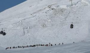 Ocho muertos en avalanchas en un solo fin de semana en los Alpes