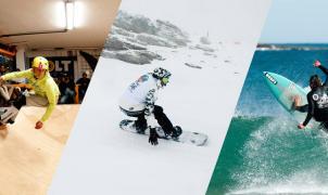 Dani García gana la OA2 FuSSSion, la única prueba que combina surf, skate y snowboard