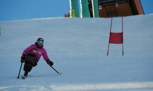 El equipo canadiense prepara en Grandvalira el Mundial de Esquí Alpino Paralímpico