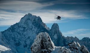 Rescatan muerto en el Mont Blanc a un esquiador de montaña que se saltó el confinamiento