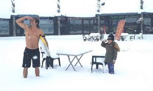 Las mejores imágenes de las estaciones de esquí después de la nevada