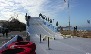 Vigo tendrá su pista de esquí de nieve artificial y su pista de hielo en Navidades