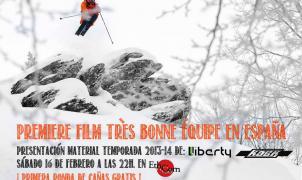 Cartel del evento de presentación de la película Très Bonne Équipe!