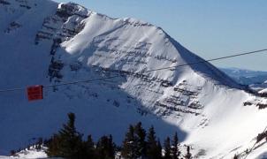 Un snowboarder muere en una avalancha en Jackson Hole