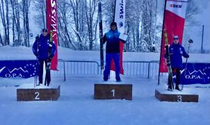Triunfo de mérito de Jaume Pueyo en el Sprint de la OPA Alpen Cup junior de Goms