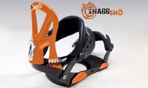 Llega Snabbsnö, una revolucionaria fijación para snowboard