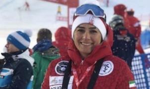 El marido prohíbe a la entrenadora de esquí de Irán ir al Campeonato del Mundo en Italia