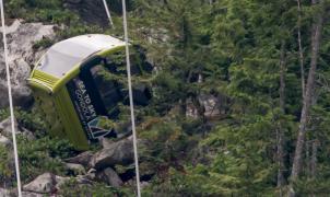 Sabotaje en un telecabina de Canadá: cortan el cable y 30 cabinas chocan contra el suelo