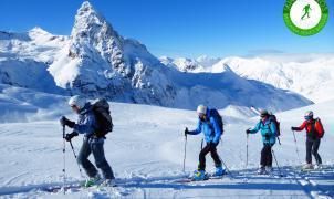 El esquí de montaña se reúne en la Val d'Aran. Participa en talleres, salidas guiadas y tests