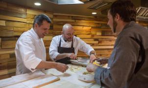 Máxima creatividad gastronómica en el Snow Club Gourmet dedicado a 'Disfrutar Events'