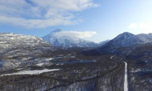 Rusia construirá una estación de esquí en medio de los volcanes de Kamchatka
