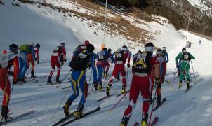 Vertical Race y Font Blanca, dos Campeonatos del Mundo de referencia en el esquí de montaña en Vallnord