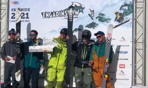 Espectacular triunfo del aranés Abel Moga en la Qualifier del Freeride World Tour en Suiza
