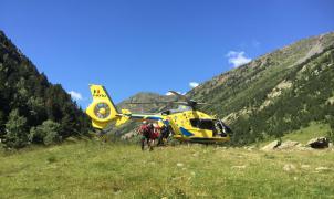 Muere un excursionista de 72 años bajo el pico de Tristaina