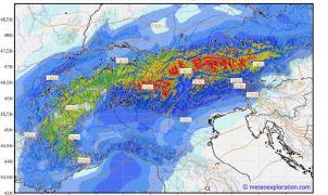 Las temperaturas caerán más de 10 grados en le Pirineo y llega la nieve