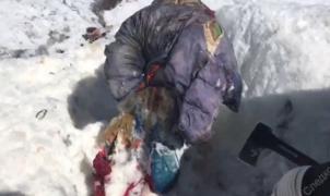 Hallado el cuerpo de una alpinista rusa sepultada por una avalancha hace 31 años