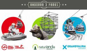 Nace Andorra 3 Parks: Un Forfait para disfrutar de Pal Arinsal, Naturlandia y Grandvalira en verano