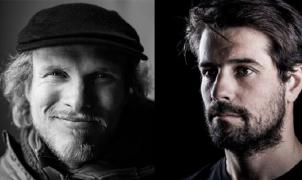los freeriders Andreas Fransson y JP Auclair