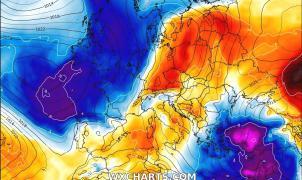 Llega un fin de semana de Chubascos y nevadas a la Península