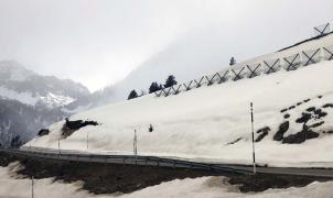 Más barreras antialudes para la carretera de la Bonaigua