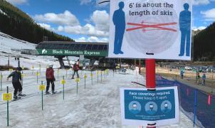 """Norteamérica marca precedente para los """"ski resorts"""" europeos ante las restricciones COVID"""