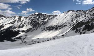 La temporada de esquí en Colorado ha sido muy larga. Algunas estaciones permanecen todavía abiertas, como Arapahoe Basin.