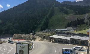 Se reanuda la construcción del telecabina Tristaina y la renovación de la red de nieve de Arcalís