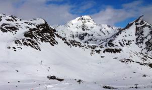 El pico de Tristaina, posible escenario para el Freeride World Tour en Andorra