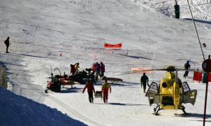 Dos accidentes de esquí en Andorra
