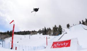 Javier Lliso a por todas en la inauguración de la Copa del Mundo de Freeski FIS en Chur