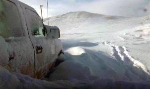 Drama blanco en Argentina: una familia estuvo atrapada en la nieve durante 26 horas