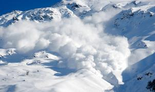 Vídeo de una impresionante avalancha de Seracs en La Grave