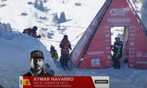 El vídeo GoPro de la épica bajada de Aymar Navarro en el Xtreme de Verbier