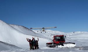 Lo que podía haber sido esquiar en El Azufre en 2021, pero se ha aplazado hasta el 2022, en vídeo