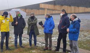 Candanchú y la RFEDI inauguran un renovado estadio de Biatlón