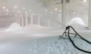 La primera estación de esquí cubierta de EE.UU. abrirá con 5,5 toneladas de nieve y 4 pistas