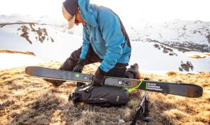 La chaqueta perfecta para el esquí de montaña es de Black Diamond