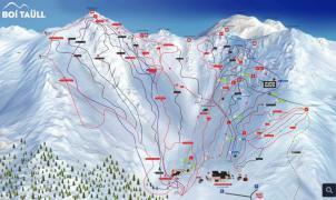 Boí Taüll estrena un nuevo plano de pistas interactivo en 2D