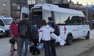 """El """"Bus Blanc"""" de la Cerdanya, una opción poco conocida para subir a pistas"""