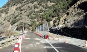 La C-13 ya vuelve a estar operativa: Abiertos los accesos a Tavascan y Espot desde Rialp