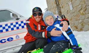 Falls Creek Ski Resort vive horas dramáticas por la desaparición de un niño de 8 años