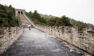 ¿Imagináis esquiar la Gran Muralla China? Si alguien podía esquiarla era Candide Thovex