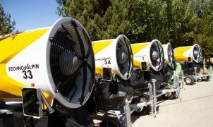 Sierra Nevada está instalando 77 nuevos cañones de nieve de última generación
